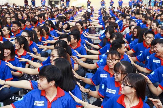 10.000 sinh viên tình nguyện Tiếp sức mùa thi 2017