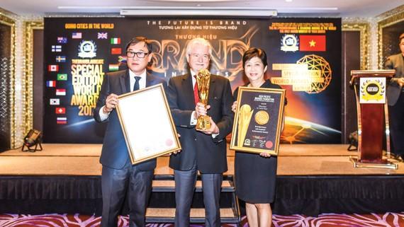 Công bố giải thưởng Thương hiệu xuất sắc thế giới 2017