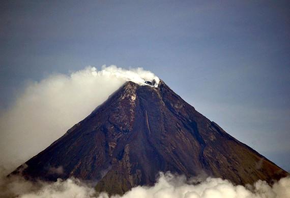 Núi lửa Mayon. Ảnh: PhilStar