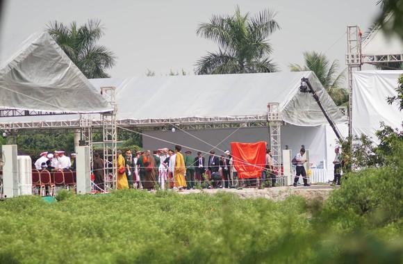Quê nhà đón linh cữu nguyên Tổng Bí thư Đỗ Mười về nơi an nghỉ cuối cùng ảnh 24