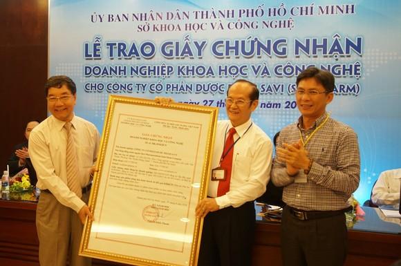 TPHCM có doanh nghiệp KH-CN đầu tiên trong ngành dược ảnh 1