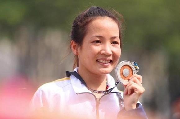 Vietnamese runner Hoang Thi Thanh (Photo: VNA)