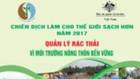 """""""Make the world cleaner"""" campaign to be launched in Hoa Binh province"""