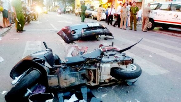 Accidents happened due to drivers' low awareness