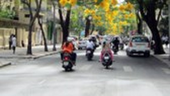 Vehicles banned to travel in HCMC's metropolitan on November 4