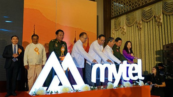 The mobile network Maytel, invested by Viettel, is going to officially begin its service in Myanmar