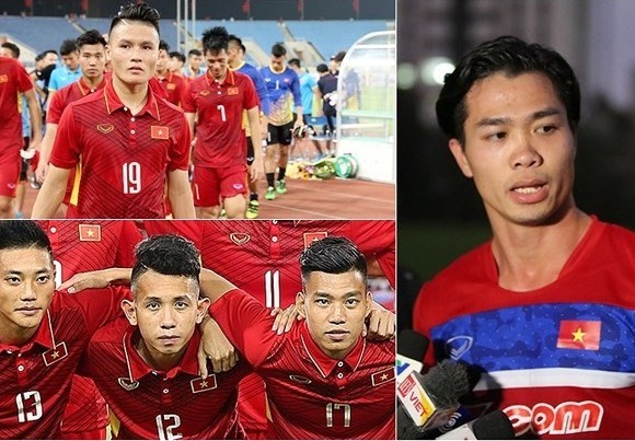 Vietnam's U23 players (pictured) will be key players of the Vietnam national team at the upcoming AFF Suzuki Cup. (Photo: thethaovietnam.v)