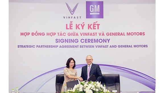 At the signing ceremony (photo: SGGP)