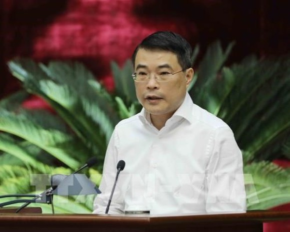 Governor of the State Bank of Vietnam Le Minh Hung (Photo: VNA)