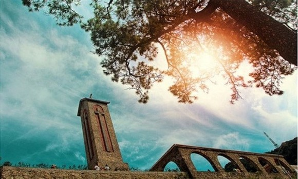 The ancient stone church in Tam Dao (File photo)