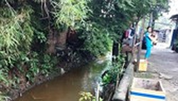 A section of Hy Vong canal (Photo: SGGP)