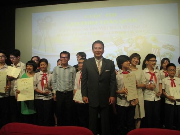 Japan-Vietnam Special Ambassador Sugi Ryotaro initiates the contest in 2007 (Photo: Website of Japanese Embassy in Vietnam )