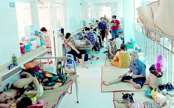 Cases of HFM escalating in Mekong delta