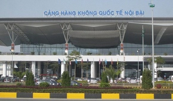 The Noi Bai International Airport renovates its T1 domestic terminal. (Photo:SGGP)