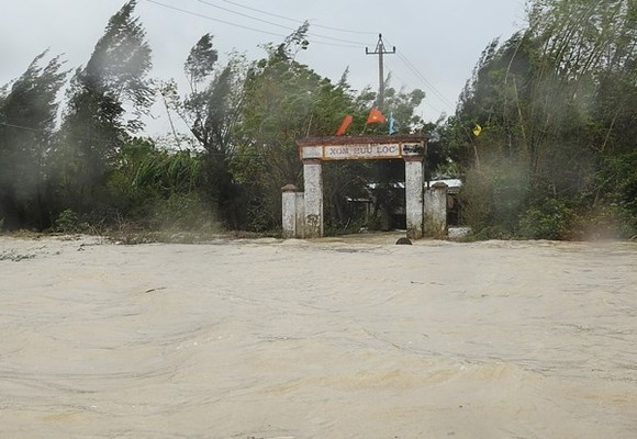 Floodwaters begins increasing from last night.(Illustrative photo:SGGP)