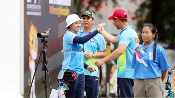 Vietnamese delegation wins one more medal in archery