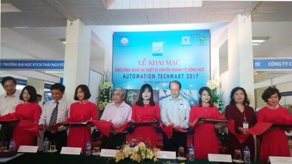 The opening ceremony of Automation Techmart 2017
