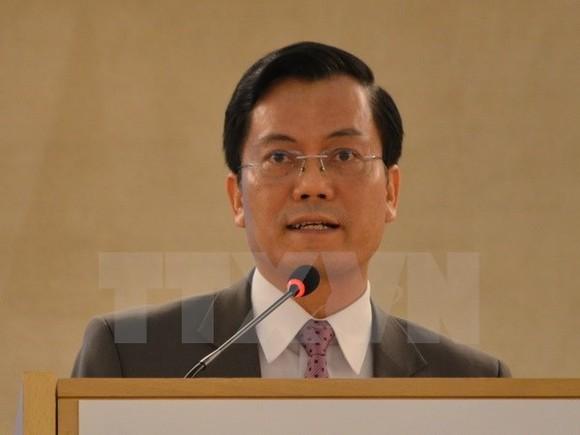 Deputy Foreign Minister Ha Kim Ngoc (Photo: VNA)