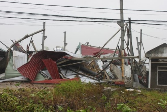 Typhoon Doksuri causes serious damages