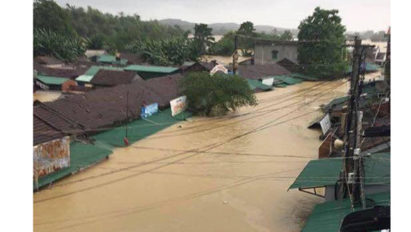 Central region suffers downpour and flooding