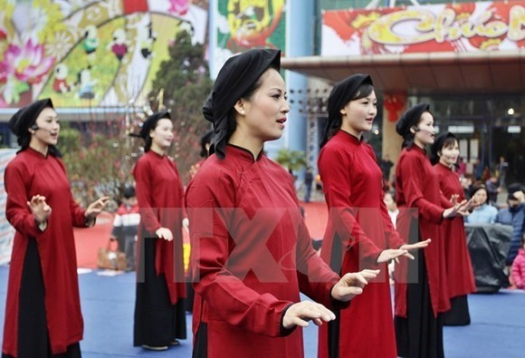 Xoan singing comes from Phu Tho province.  (Photo: VNA)