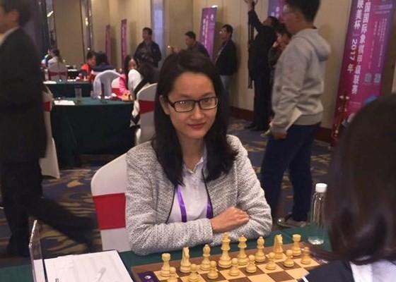 Vo Thi Kim Phung at London Chess Classic 2017 (Photo:Kim Phung)