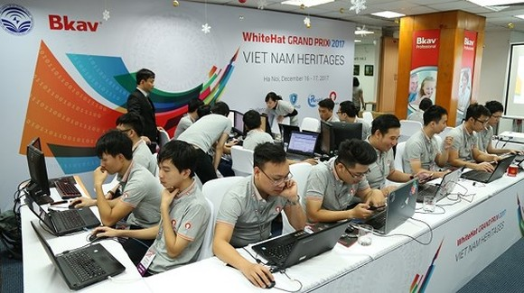 WhiteHat Grand Prix 2017 attracts more than 50 countries in the world (Photo: Tran Binh)