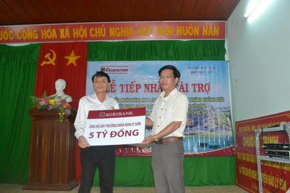 Hỗ trợ 5 tỷ đồng xây dựng trường mầm non ở huyện đảo Lý Sơn (Quảng Ngãi) ảnh 1