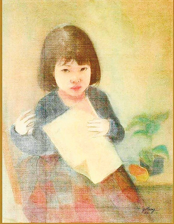 Nghi án giả mạo tranh của cố họa sĩ Giáng Hương ảnh 1