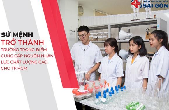 Trường Cao Đẳng Y Dược Sài Gòn đơn vị uy tín đào tạo nguồn nhân lực y tế trên địa bàn TPHCM  ảnh 1