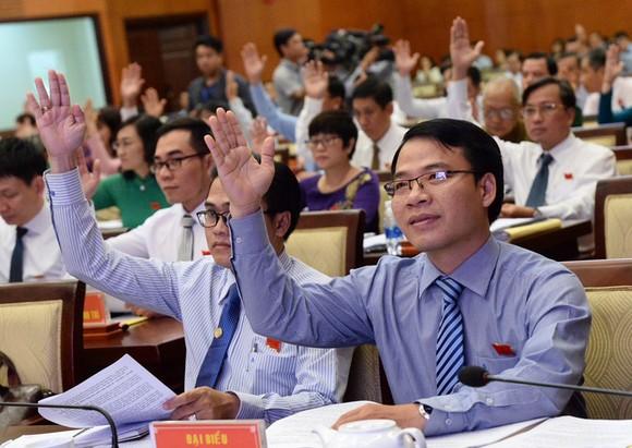 與會代表表決通過《決議》。(圖源:自忠)