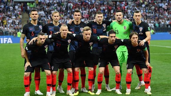 克羅地亞晉級世足盃決賽。(圖源:互聯網)