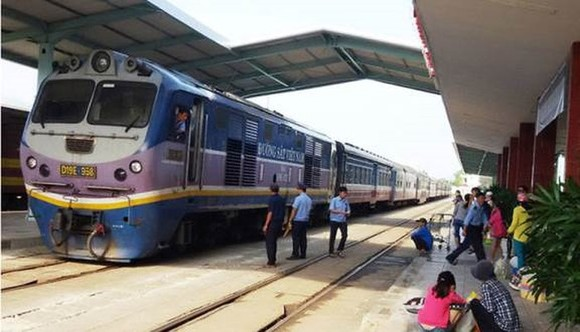芽莊兩列車差點相撞。圖為芽莊火車站一瞥。(示意圖源:互聯網)