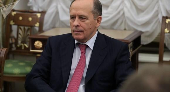 俄羅斯聯邦安全局局長博爾特尼科夫。(圖源:Sputnik)