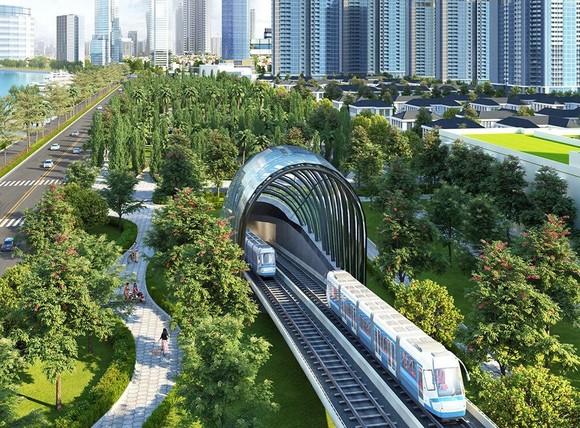 濱城-仙泉地鐵一號線藍圖。(圖源:互聯網)