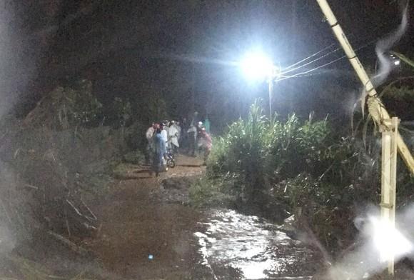 Đà Lạt mưa lớn, nước cuốn mất tích 1 người ảnh 1