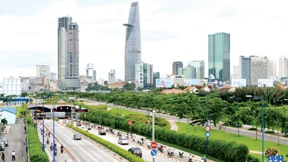 Traffic infrastructure in HCMC has much developed in recent years (Photo: SGGP)