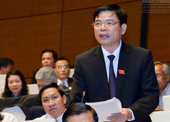 Minister of Agriculture and Rural Development (MARD) Nguyen Xuan Cuong