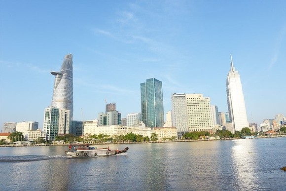 A view of HCM City. The World Economic Forum's latest global competitiveness list, released on Wednesday, ranked Vietnam 55th overall, up five places from last year and 20 from five years ago. (Photo: tuoitre.vn)