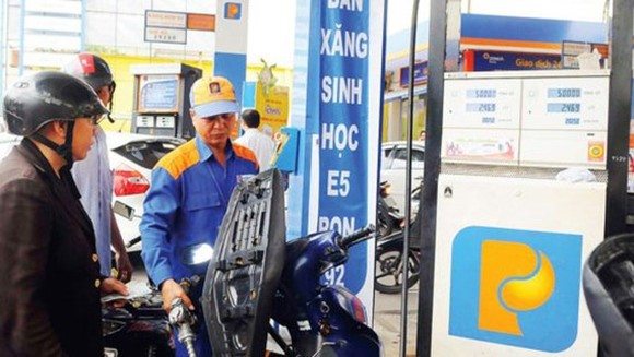 A filling station in HCMC