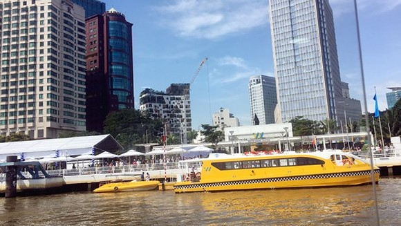 HCMC's first river bus route officially comes into operation on November 25 (Photo: SGGP)