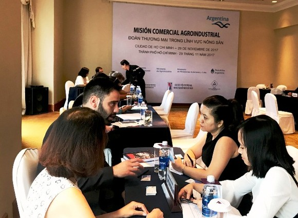 Vietnamese and Argentinian businesses seek trade promotion opportunities at the conference (Source: baocongthuong)