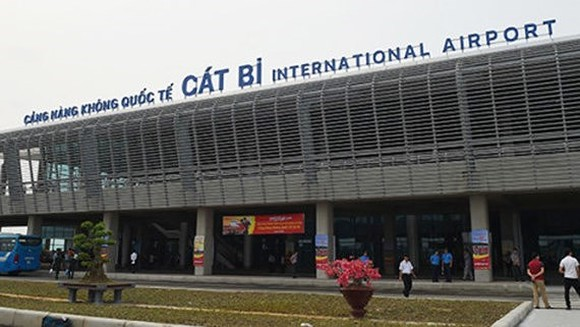 Cat Bi airport in the northern city of Hai Phong