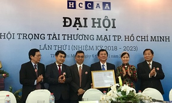 HCMC Commercial Arbitration Association was officially launched at a ceremony in HCMC on January 6