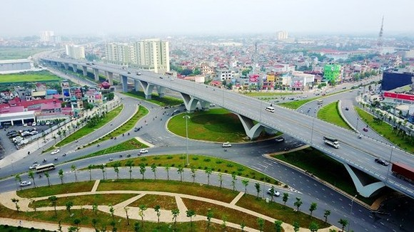 Long Bien intersection in Hanoi (Illustrative photo)