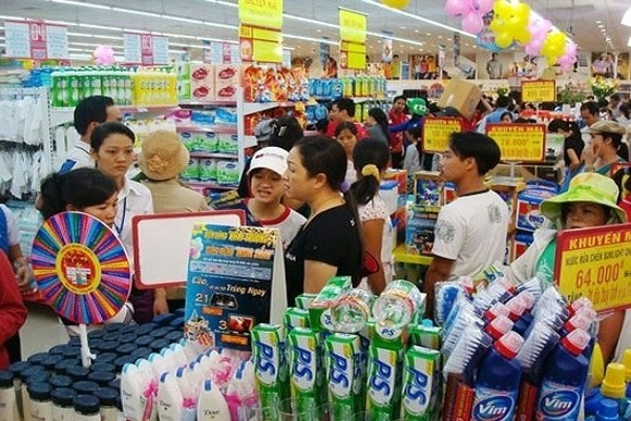 Vietnam's retail market is estimated to have large potential