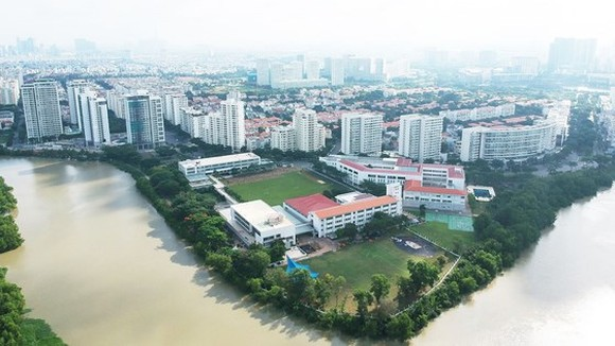 District 7, HCMC (Photo: SGGP)