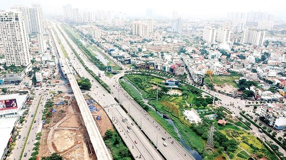 Ring Road No.2 has not been built (Photo: SGGP)