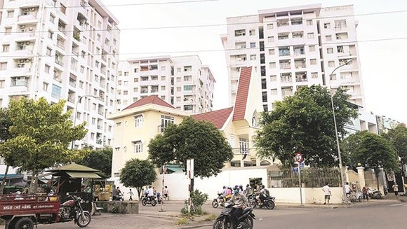 A social housing project in District 11, HCMC
