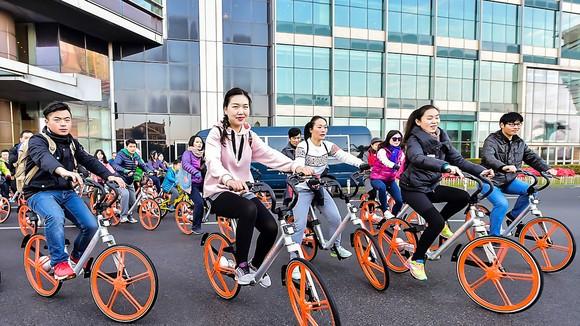 Xe đạp đang là phương tiện giao thông được nhiều người Trung Quốc lựa chọn